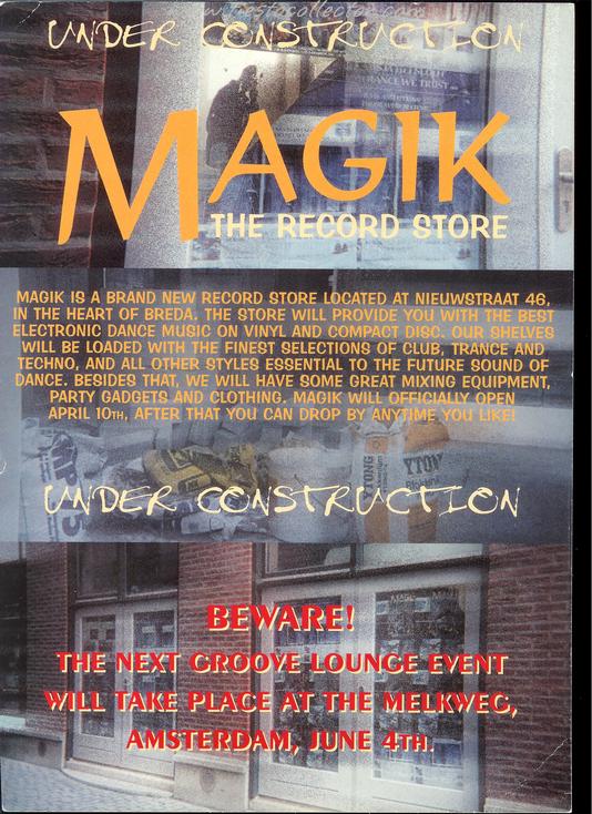 9 April 1999 – Magik The Record Store – Massa, Breda