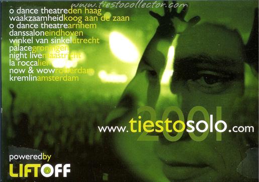 2001 – Tiesto Solo