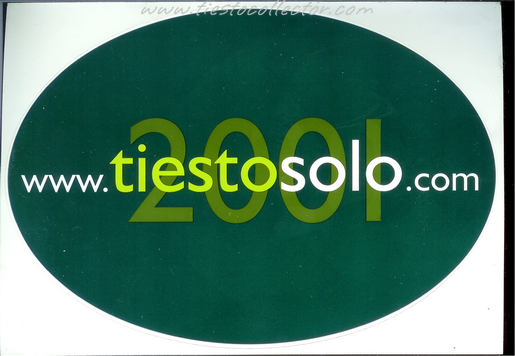 2001 – Tiesto Solo – Sticker