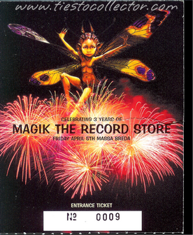 5 April 2002 – Celebrating 3 Years Of Magik The Record Store – Massa, Breda