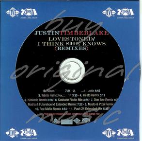 Justin Timberlake – LoveStoned / I Think She Knows (Tiesto Remix)