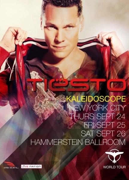 Kaleidoscope announced as name of Tiësto's World Tour!
