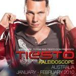 Tiesto's 'Kaleidoscope' Australian tour dates 2010