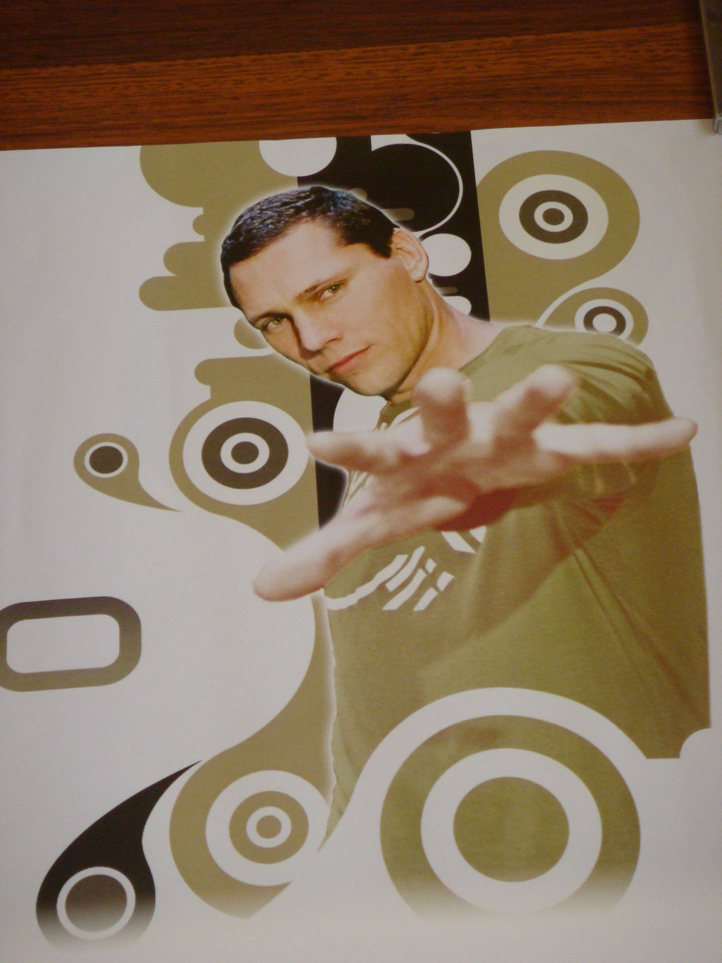 Tiesto For Us By Us Poster