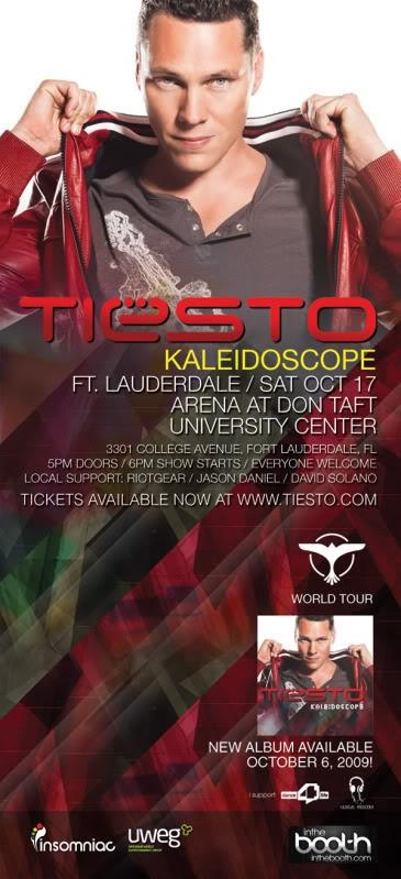 Tiesto Cancels Saturday's NSU Arena Show