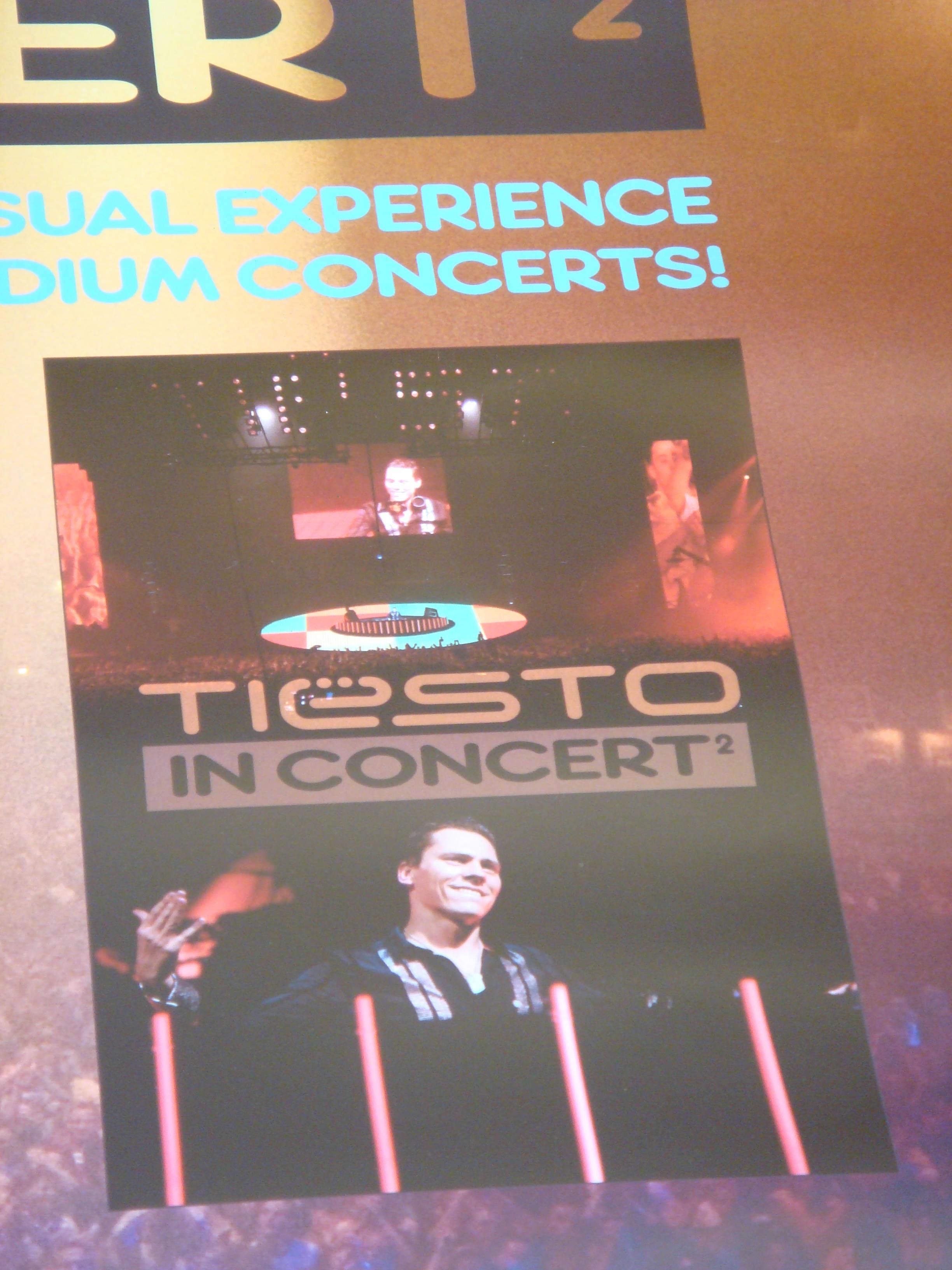 Dj Tiesto – In Concert 2 Poster