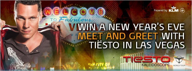 Win a trip to meet Tiësto in Las Vegas this New Year's Eve with KLM!