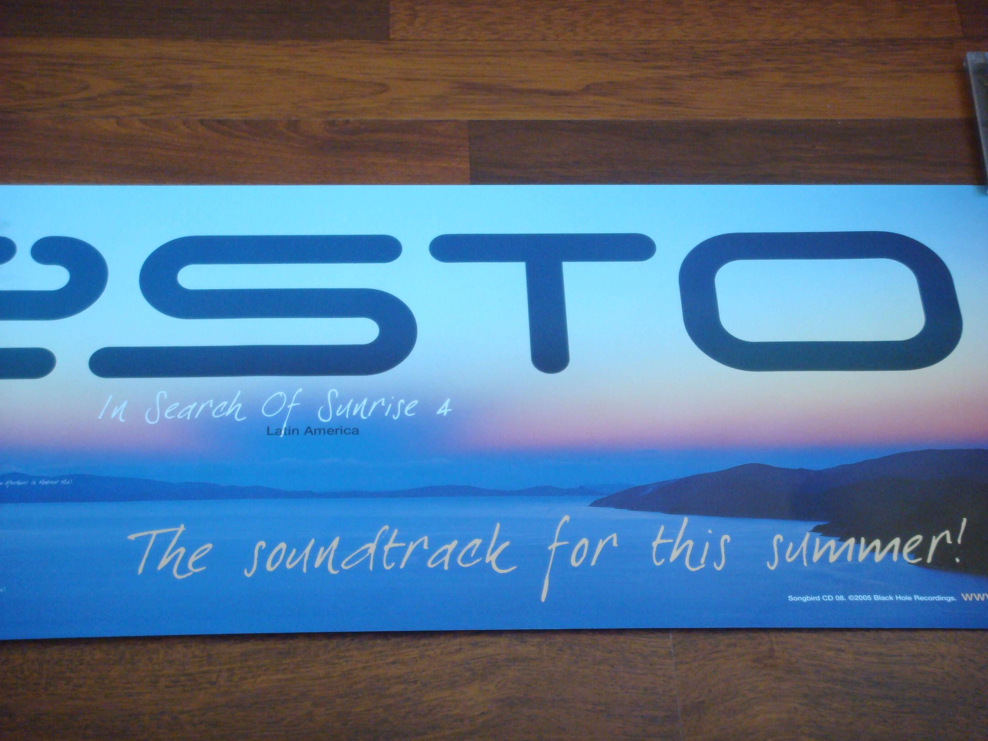 Dj Tiesto In Search Of Sunrise 4 Release Poster