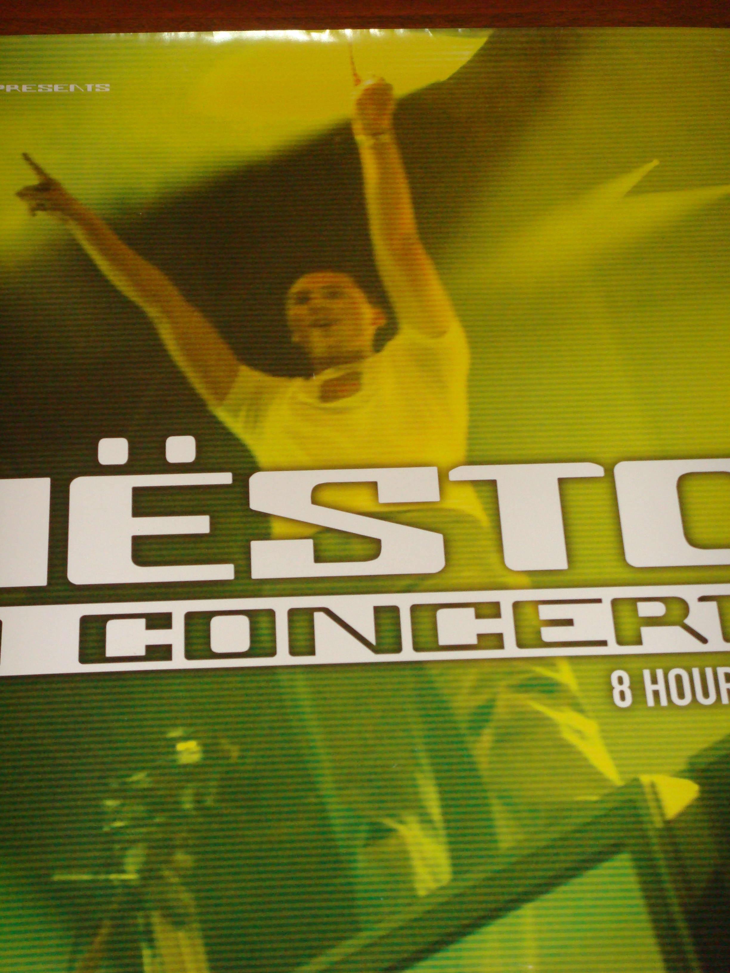 Dj Tiesto in Concert 2003 Poster