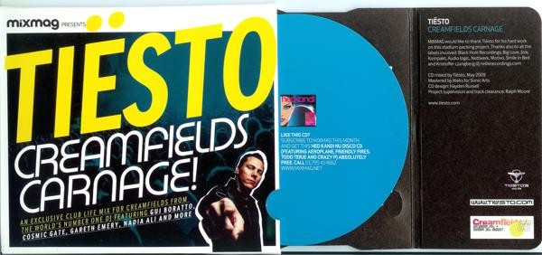 MixMag Presents: Tiesto – Creamfields Carnage Promo Cd