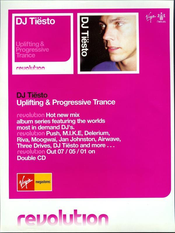 Dj Tiesto – Revolution Promotion Ad 2001