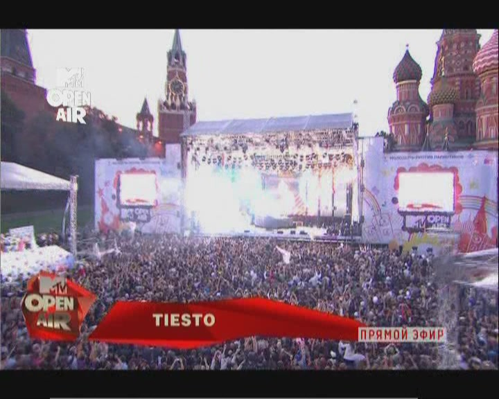 Download the Liveset Satrip: Tiesto live at MTV Open Air 2010, Red Square, Moscow