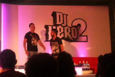 Tiesto is DJ Hero ambassador (DJ Hero 2) + Video Interview
