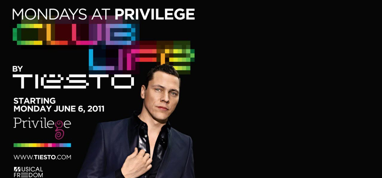 Tiesto's residency at Privilege Ibiza 2011 officially announced