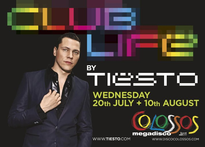 Tiesto gig canceled due to riots at Disco Colossos in Lloret de Mar