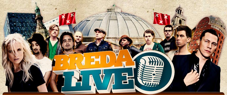 Tiesto coming back to Breda Live 2012