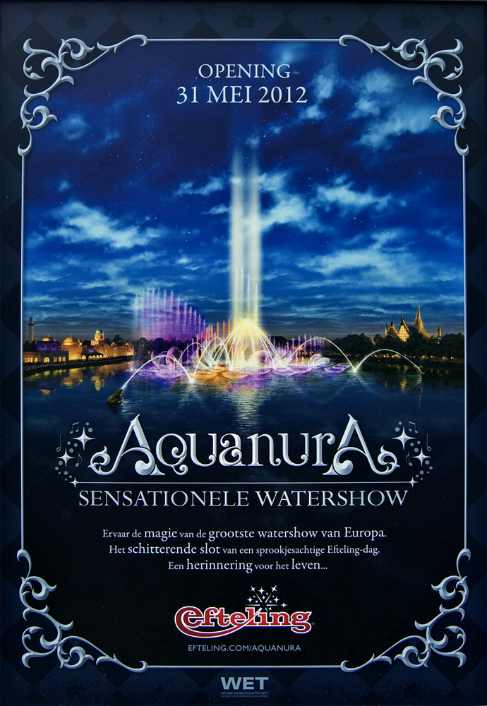 Tiesto hosts live opening Aquanura at the Efteling (NL) – Live stream available!