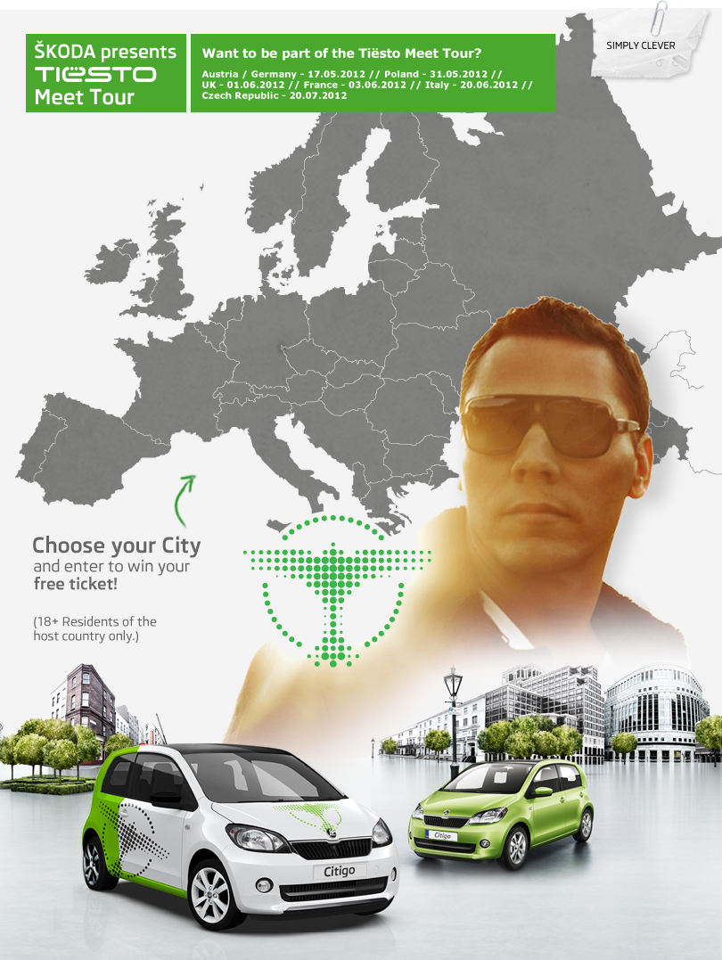 ŠKODA presents Tiesto Meet Tour