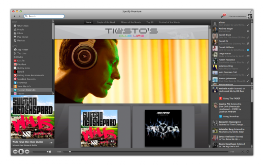 Tiesto gets his own channel at Spotify
