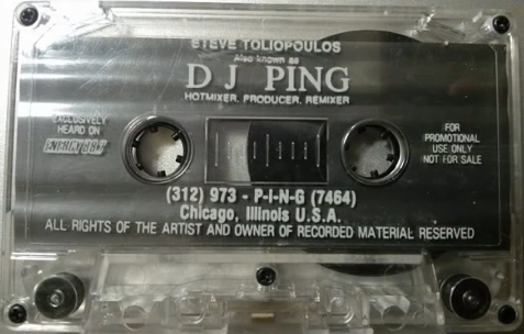 Super Old Skool Tiesto tape from 1992